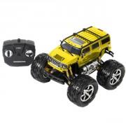 Hummer Big roues radiocommandé jaune
