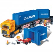 Blocs construction camion