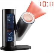 Station météo réveil  avec projection heure