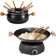 wok et fondue électrique
