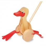 Canard dandinant en bois