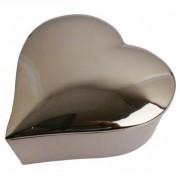 Ecrin forme coeur en aluminium 12.5cm