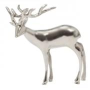 Statuette cerf décorative - 28x30 cm