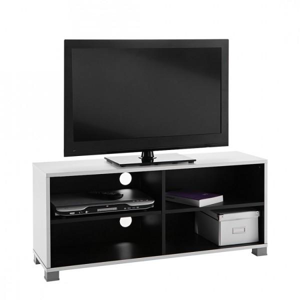 Banc tv design noir et blanc