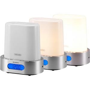 Lampe réveil par lumière naturelle croissante ou sons naturels